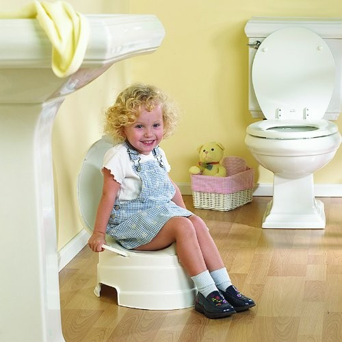 Awesome Primo 4 In 1 Soft Seat Toilet Trainer And Step Stool White Machost Co Dining Chair Design Ideas Machostcouk