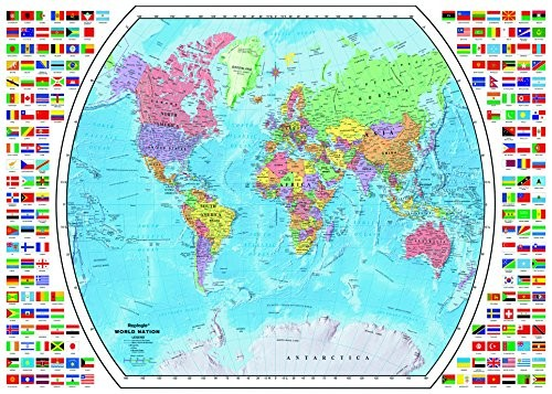 Ravensburger Political World Map Jigsaw Puzzle 1000 Piece Buy